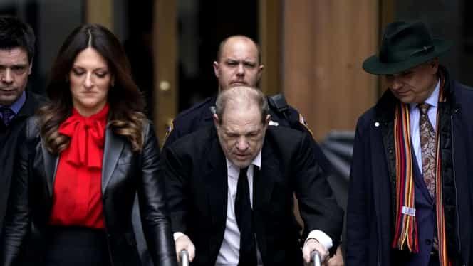 Caz șocant în lumea filmului de la Hollywood! Harvey Weinstein a fost condamnat la 23 de ani de închisoare pentru viol și agresiune sexuală