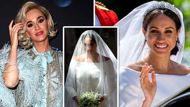 Katy Perry critică rochia lui Meghan Markle