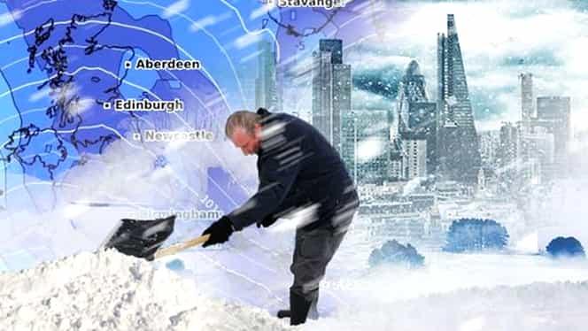 Cod roșu de ninsori: 14 oameni au murit de frig, în Europa