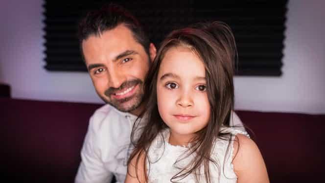 Sărbătoare în familia lui Pepe! Una dintre fiicele artistului a împlinit vârsta de cinci anișori