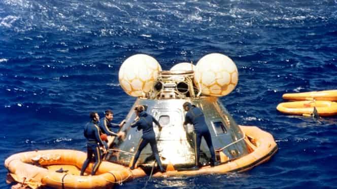 19 decembrie, semnificaţii istorice. Nava spaţială Apollo 17 aterizează în Oceanul Pacific