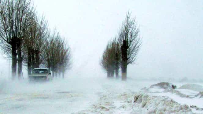 Prognoza meteo pentru perioada 14-20 ianuarie: gerul și viscolul cuprind România