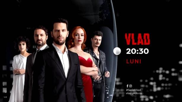 Debutul serialului Vlad, de la Pro TV, pe primul loc în topul audiențelor