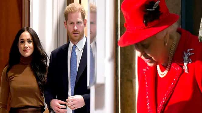 """Furia Reginei Elisabeta după Megxit. Meghan Markle și Prințul Harry nu au anunțat-o că vor să renunțe la atribuții: """"Au avut câți bani au vrut, ce vor mai mult?"""""""