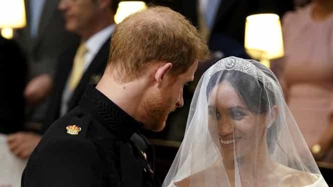Meghan Markle, poezie pentru Prinţul Harry! L-a făcut să plângă în faţa invitaţilor!