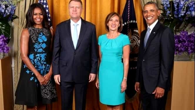 Preşedintele Klaus Iohannis participă azi la o cină oferită de Barack Obama