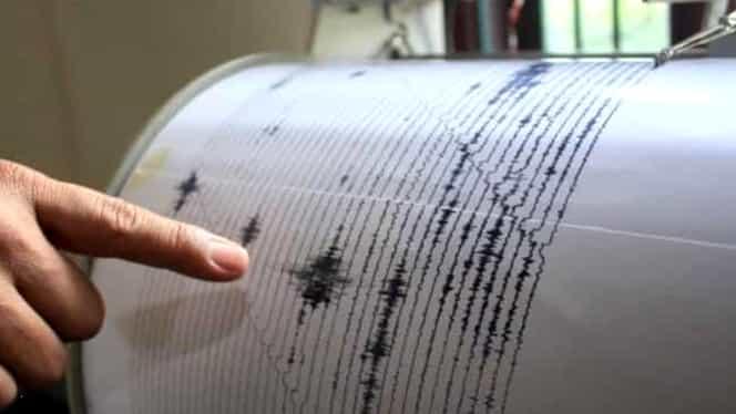 Cutremur de 2,5 pe scara Richter, marţi dimineaţă, în Vrancea