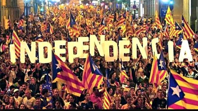 Momente istorice la Barcelona. Ce s-a decis în legătură cu independenţa Cataloniei