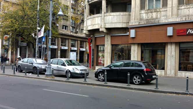 Se schimbă Codul Rutier! Mașinile parcate pe trotuar vor putea fi ridicate