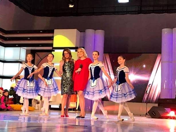 Din cand in cand, Raluca este invitata la TV. Ultima data, a fost la TVR, in emisiunea fostei sale colege, Corina Danila
