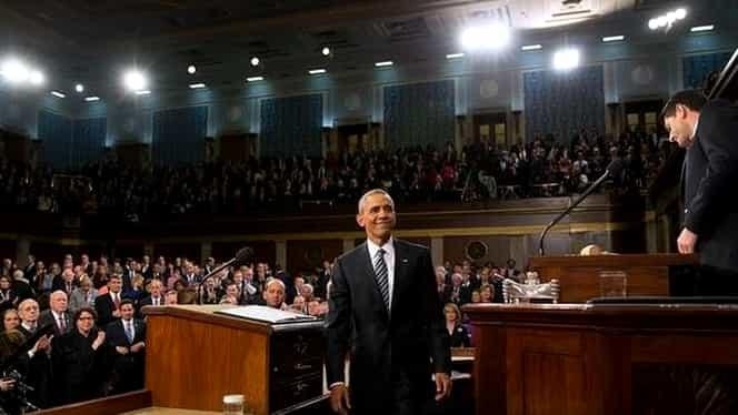 Gafă uriaşă a lui Obama în discursul despre starea naţiunii