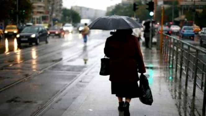 Prognoza meteo joi, 31 octombrie! Vremea în București, Iași, Constanța, Cluj sau Brașov: nu scăpăm de ploi