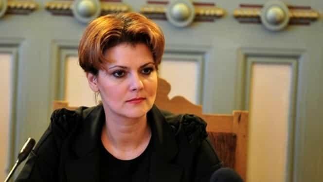 Anunţ de ultimă oră făcut de Olguţa Vasilescu despre salariile celor din mediul privat