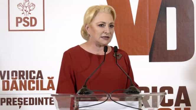 """Viorica Dăncilă a demisionat din funcția de președinte al PSD după CEx: """"E un gest pe care l-am făcut pentru partid"""""""