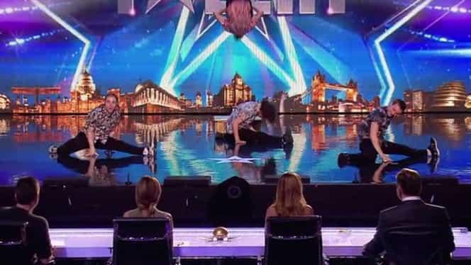 "VIDEO / Trei români, dans de senzaţie la ""Britain's Got Talent"""