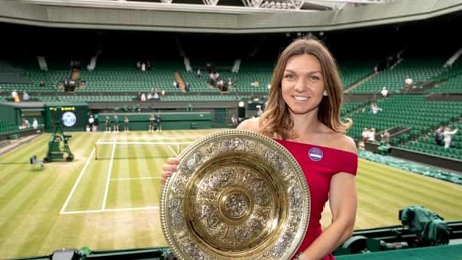 """Cine este tânărul care i-a fost alături Simonei Halep la Wimbledon: """"Mi-a plăcut și l-am păstrat"""""""
