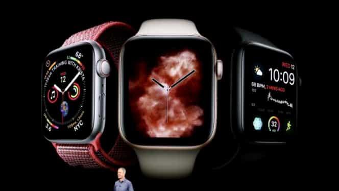Apple a lansat ceasul Watch Series 4! Sună la ambulanță mai repede decât soția!