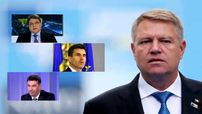 Posibilii premieri de pe masa lui Iohannis: Croitoru de la BNR, ambasadorul Emil Hurezeanu sau Dragoș Tudorache
