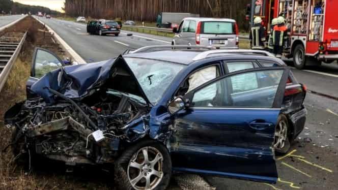 30 decembrie, zi neagră pe șosele! 4 morți și 16 răniți în 18 accidente rutiere