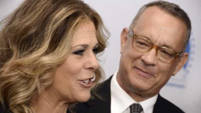 Şoc la Hollywood. Tom Hanks şi soţia sa, Rita Wilson, sunt infectaţi cu coronavirus