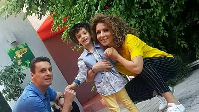 Fiul lui Mircea Badea, Vlad, este o frumusețe rară. În curând va împlini 5 ani. Galerie FOTO