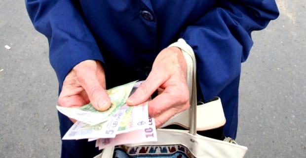 Cele mai mici pensii sunt în județul Botoșani