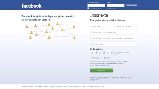 8,4 milioane de români au, în prezent, cont de Facebook. 1.9 milioane sunt din Bucureşti
