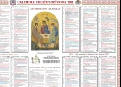 Calendar Crestin Ortodox.Arhive Calendar Crestin Ortodox Stiri Mondene