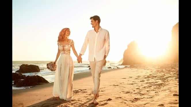"""George Burcea o lovește puternic pe Andreea Bălan. Actorul spune despre nunta lor că a fost """"o făcătură ordinară"""""""