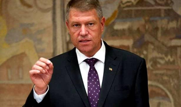 Klaus Iohannis, atac devastator la adresa PSD