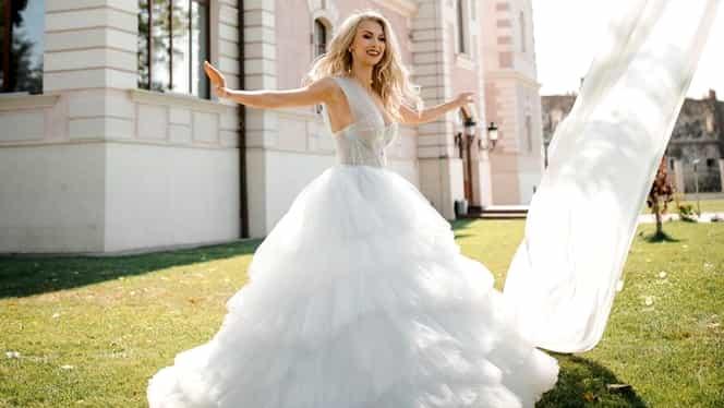 """Andreea Bălan a mărturisit de ce a plâns în ziua nunții: """"Mama mi-a spus că mă iubește"""""""