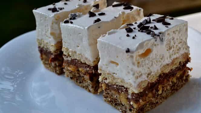 Secretul prăjiturii Parlament. Ce o face atât de dulce?