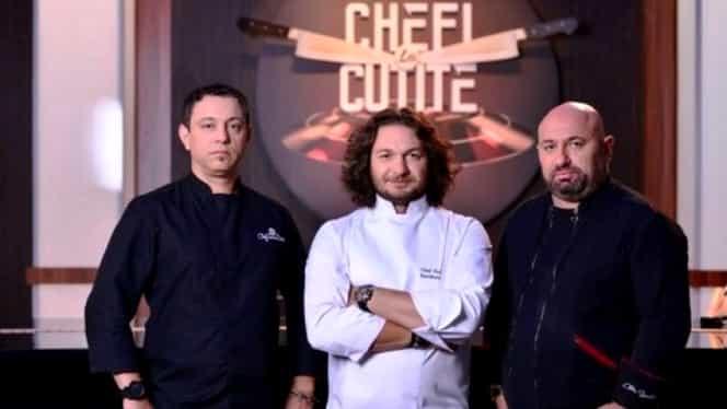 Emisiunea Chefi la cuțite revine la Antena 1. Ce format va fi de această dată
