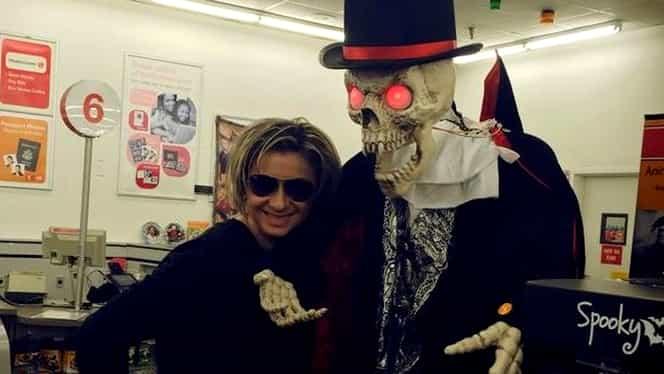 FOTO / Cum se pregăteşte Anamaria Prodan de Halloween