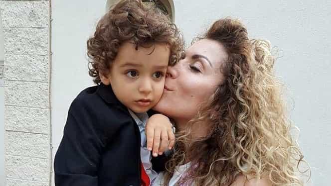 Reacția băiețelului lui Carmen Burmă, după ce vedeta s-a operat!