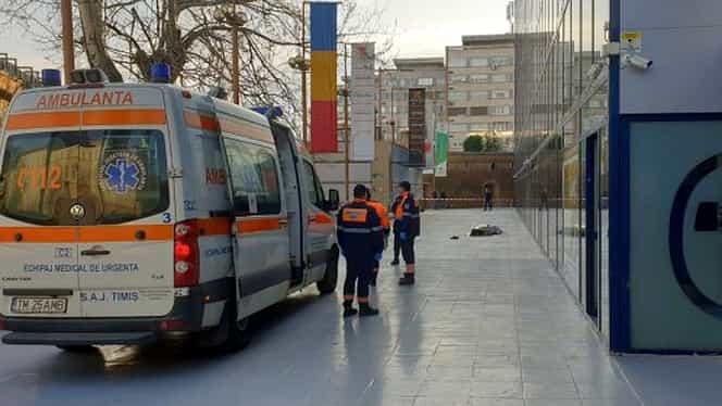Fostul şef al DNA Timiş, Tamas Schiffbeck, s-a sinucis! S-a aruncat de la etajul 6 al sediului