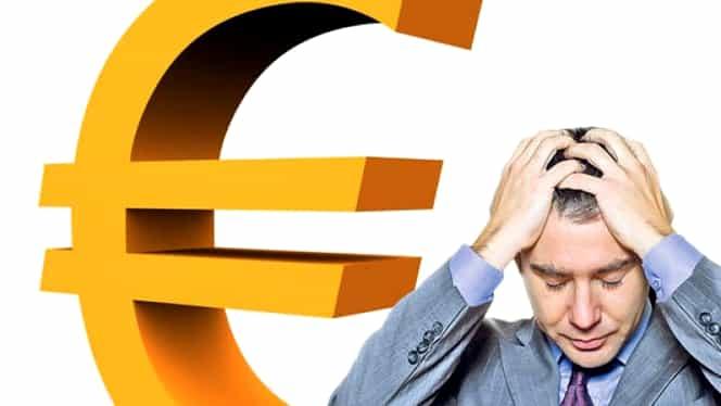 Moneda EURO a explodat, în plin boom economic! Cel mai slab LEU din ultimii 5 ani