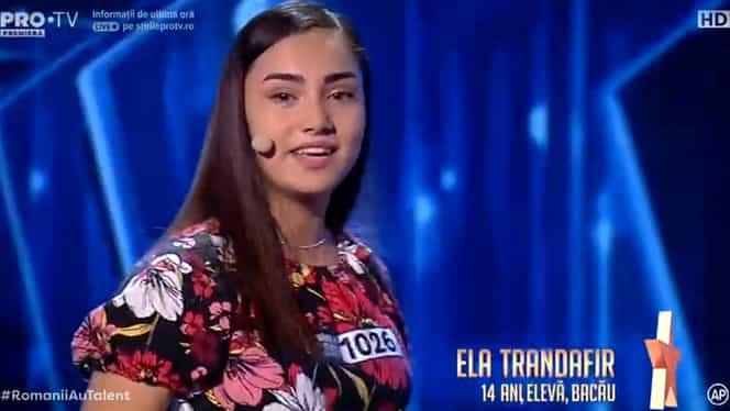 Ela Trandafir, judecată pentru că e de etnie romă, a rupt scena la Românii au talent – Video