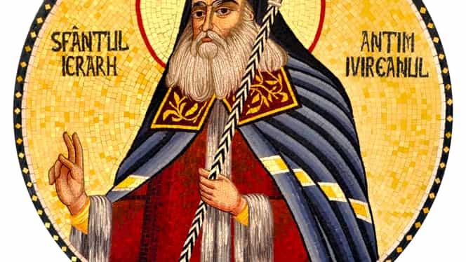 Calendar ortodox, 27 septembrie. Este prăznuit Sfântul Antim Ivireanul