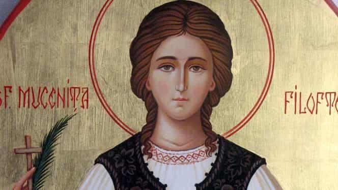 Calendar ortodox: sâmbătă, 7 decembrie. Este pomenită Sfântă Muceniță Filofteia de la Argeș
