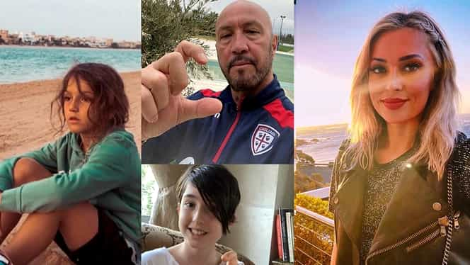 """Walter și Raluca Zenga, despărțiți de carantină. Ea este în Emirate cu copiii, el în Italia: """"Nu ne-am mai văzut de o lună"""""""