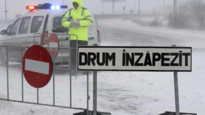 INFOTRAFIC despre starea drumurilor din țară în condiții de iarnă: Cum se circulă