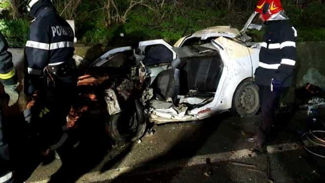 Accident cumplit în Balș, județul Olt. Patru persoane au murit strivite de un TIR