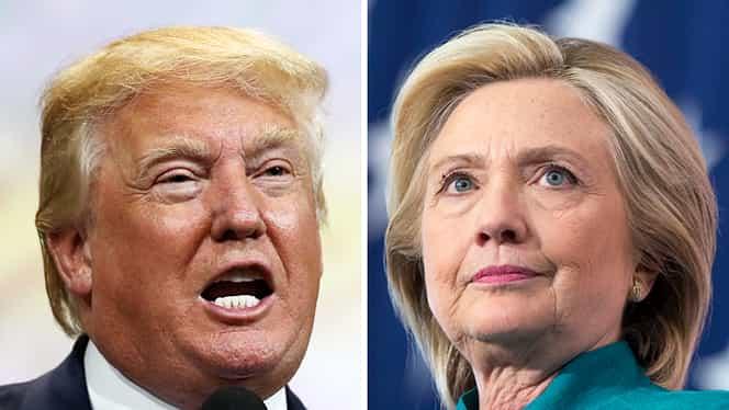Alegeri SUA. Hillary Clinton şi Donald Trump, prima dezbatere prezidenţială