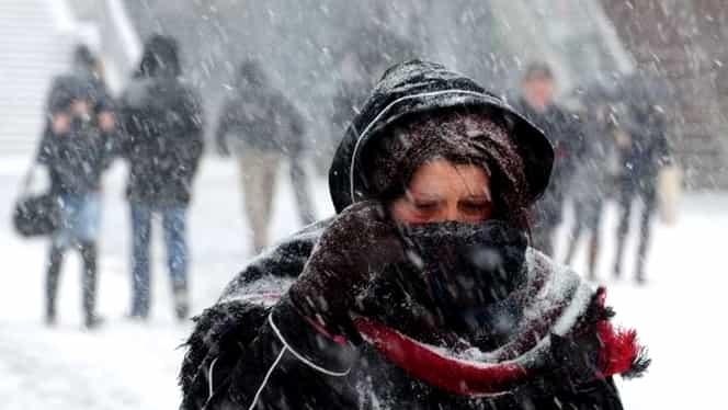 Prognoza meteo specială ANM pentru București: ninsori cantitative și temperaturi scăzute