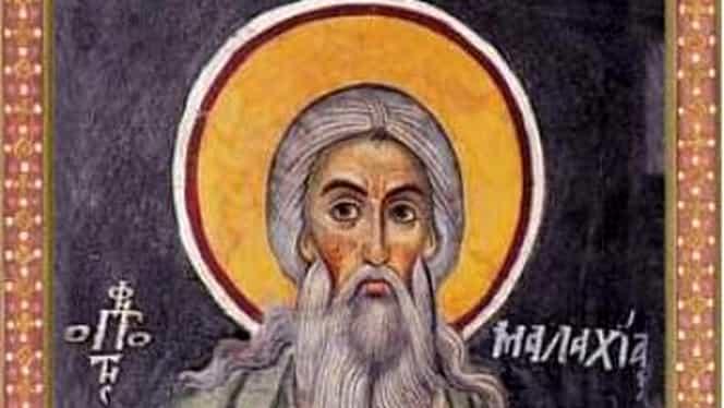 Calendar ortodox 3 ianuarie 2019: Pomenirea sfântului prooroc Maleahi