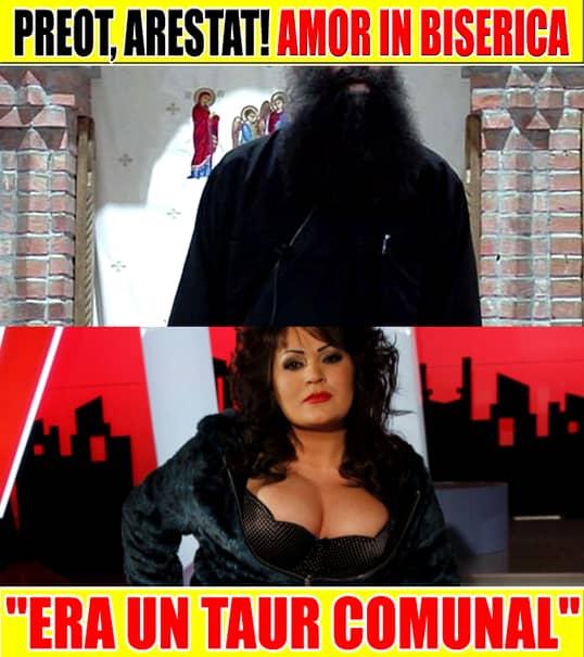 """FOTO ŞOC de ultima oră! Un preot român, ARESTAT! A agresat sexual opt enoriaşe! """"Era un TAUR COMUNAL!"""""""