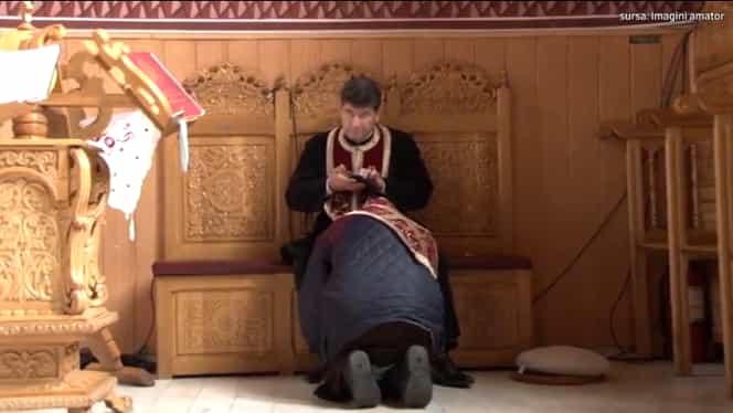 Preot constănțean, surprins într-o ipostază rușinoasă, chiar în timpul spovedaniei! Ce făcea bărbatul