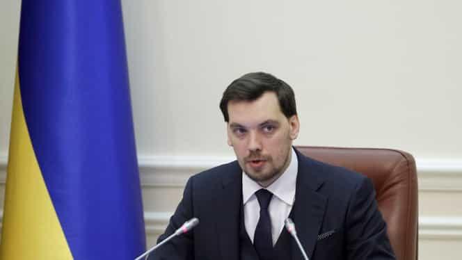 Premierul Ucrainei, OUT din funcție! A demisionat în urma unor înregistrări în care îl critica pe președinte
