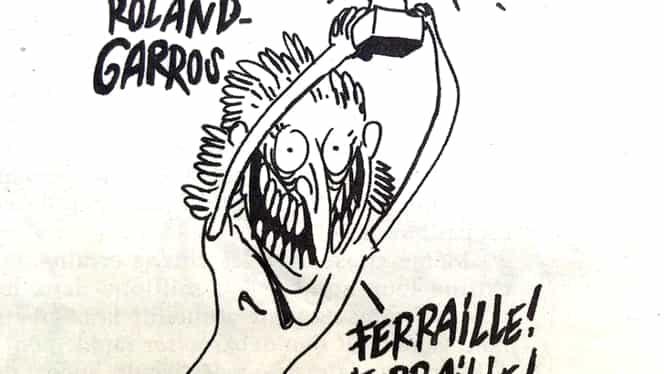 Cele mai tari reacții de pe Internet la caricatura cu Simona Halep, din Charlie Hebdo!